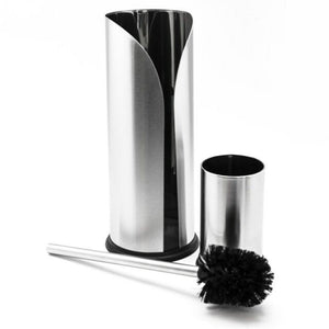united toilet set - brush & paper holder s/s - ZoeKitchen