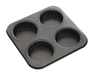 Master Pro N/S 4 Hole Tartlet Pan 26x26cm - ZOES Kitchen