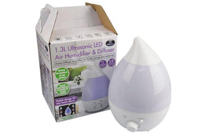 Tango 1.3l Ultrasonic Air Humidifier - ZOES Kitchen