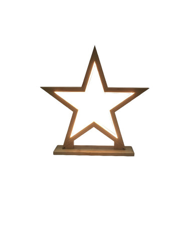led lamp star natural - small - ZoeKitchen