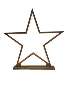 led lamp star natural - large - ZoeKitchen