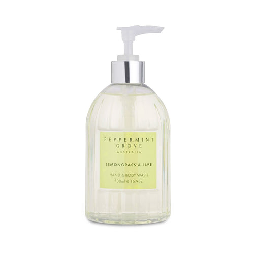PEPPERMINT GROVE HAND WASH - LEMONGRASS & LIME