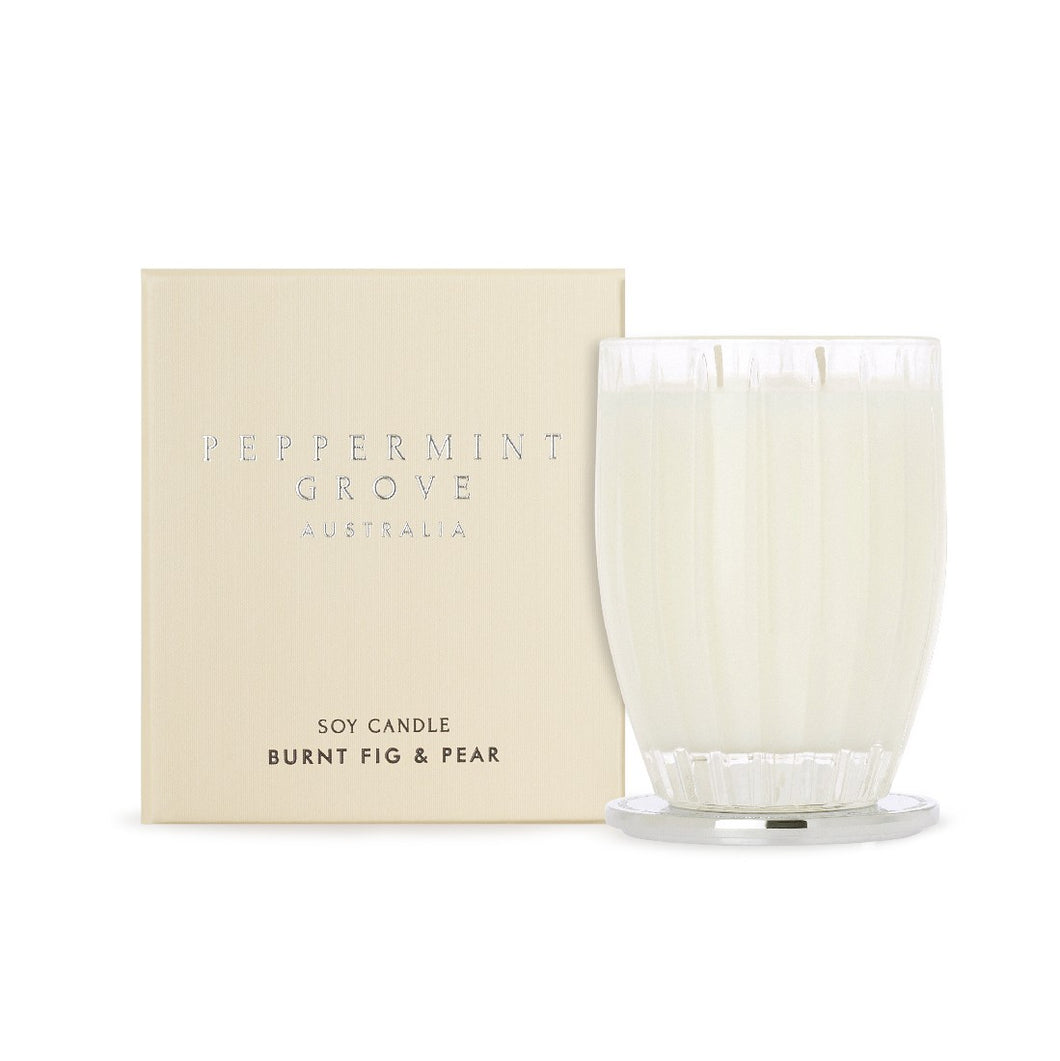 Peppermint Grove Candle 350g - Burnt Fig & Pear - ZoeKitchen