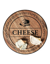 Load image into Gallery viewer, Salt&Pepper Fromage 28cm Round Wooden Cheese Board - ZoeKitchen