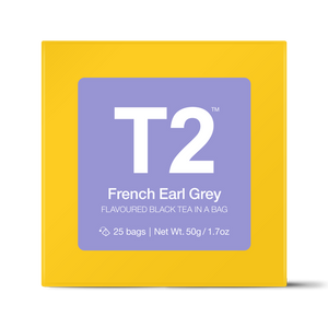 t2 teabags - french earl grey bio tbag 25pk y/b - ZoeKitchen