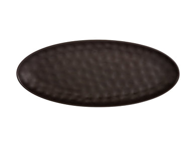 Maxwell & Williams Gravity Oval Platter 50x21cm black GB - ZOES Kitchen