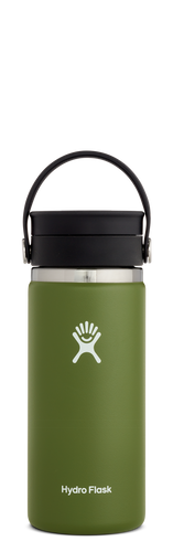 HYDRO FLASK SIPP COFFEE WDE MOUTH 16OZ/473ML - OLIVE - ZoeKitchen