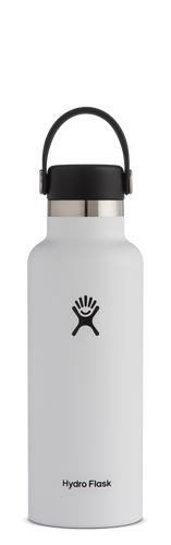HYDRO FLASK HYDRATION BOTTLE 18OZ/532ML - WHITE - ZoeKitchen