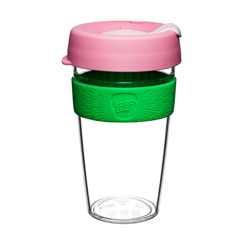 KEEPCUP CLEAR EDITION LG 16OZ - WILLOW - ZoeKitchen