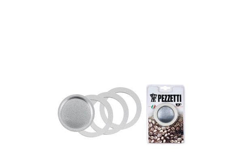 Classica Pezzetti Replacemant Seels / Gaskets For 3 Cup Coffee Maker - ZoeKitchen