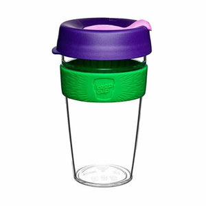 KEEPCUP CLEAR EDITION LG 16OZ - SPRING - ZoeKitchen