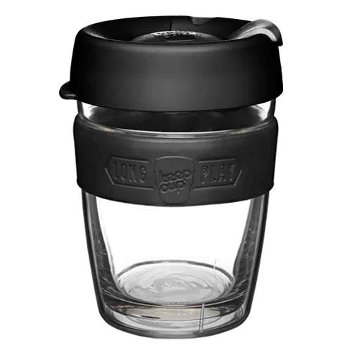 KEEPCUP LONG PLAY MED 12OZ - BLACK - ZoeKitchen