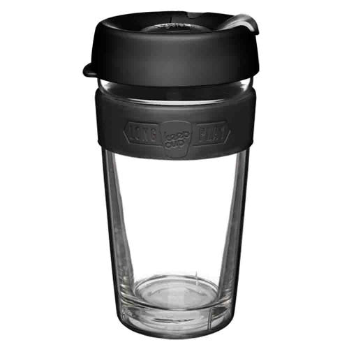 KEEPCUP LONG PLAY LGE 16OZ - BLACK - ZoeKitchen