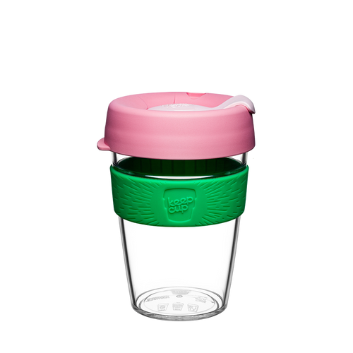 keepcup clear edition lg 12oz - willow - ZoeKitchen