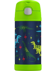 thermos funtainer drink bottle 355ml - dinosaurs - ZoeKitchen