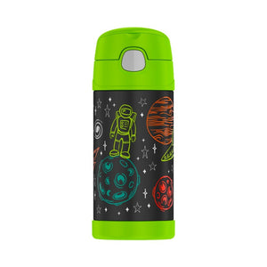 thermos funtainer drink bottle 355ml - astronaut - ZoeKitchen