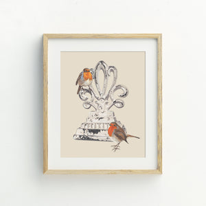 Feed the Birds Print