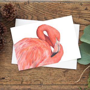 Great Flamingo Greeting Card
