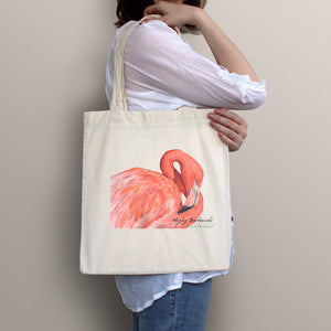 Great Flamingo Tote Bag