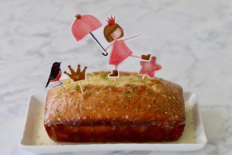 Cooking with Anita Marcela: Lemon Yogurt Pound Cake to Bake with Kids