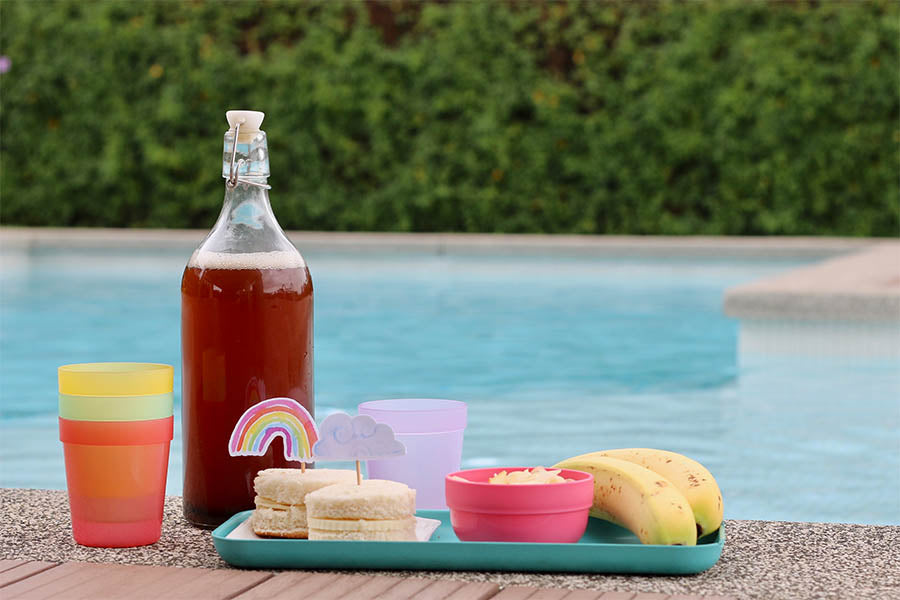 Summer Pool Party Menu with Kids by Anita Marcel