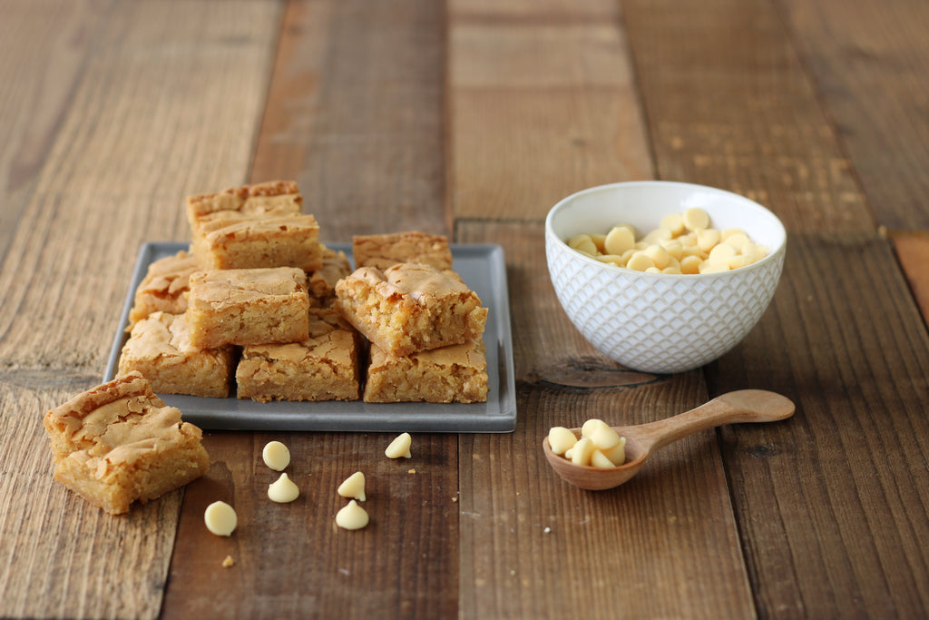 Blondies are ideal for kids' celebrations