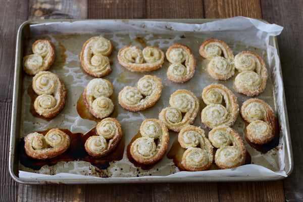 Baked Palmier Cookies
