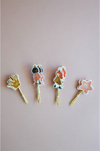 Set of 24 Princesses Cupcake Toppers