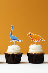 Dinosaur, Cupcake Toppers