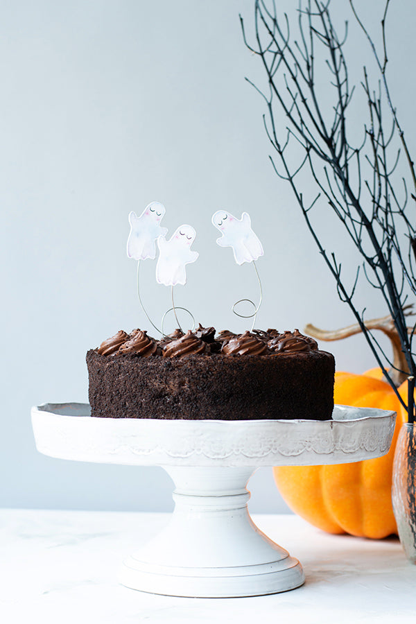 Halloween Ghosts Cake Toppers
