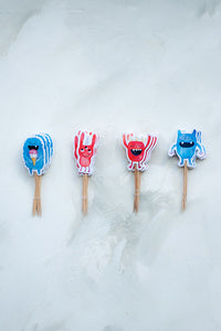 Monsters II Cupcake Toppers