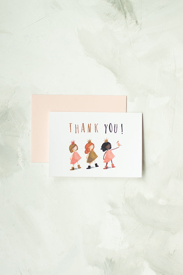 Princesses Thank You Notes, Set of 10