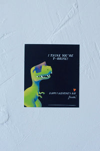 Dinosaur Valentine's day Cards for Kids