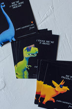 Load image into Gallery viewer, Dinosaur Valentine's day Cards for Kids