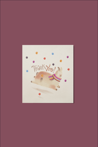 Llama Thank You Note Llamas Party Theme
