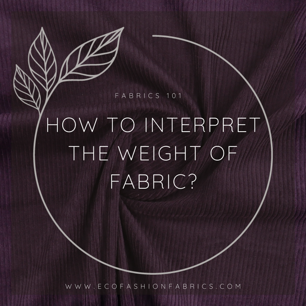 Fabric weight
