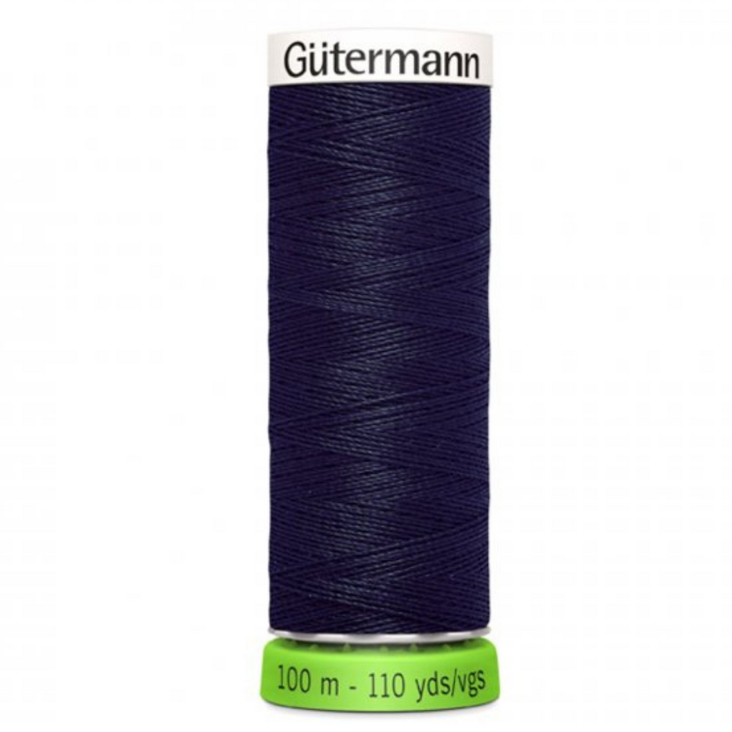 Gutermann rPET sewing thread 339 Dark Navy