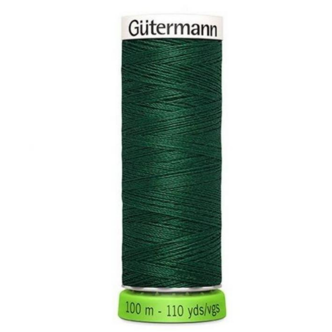 Gutermann rPET sewing thread 340 Forest Green