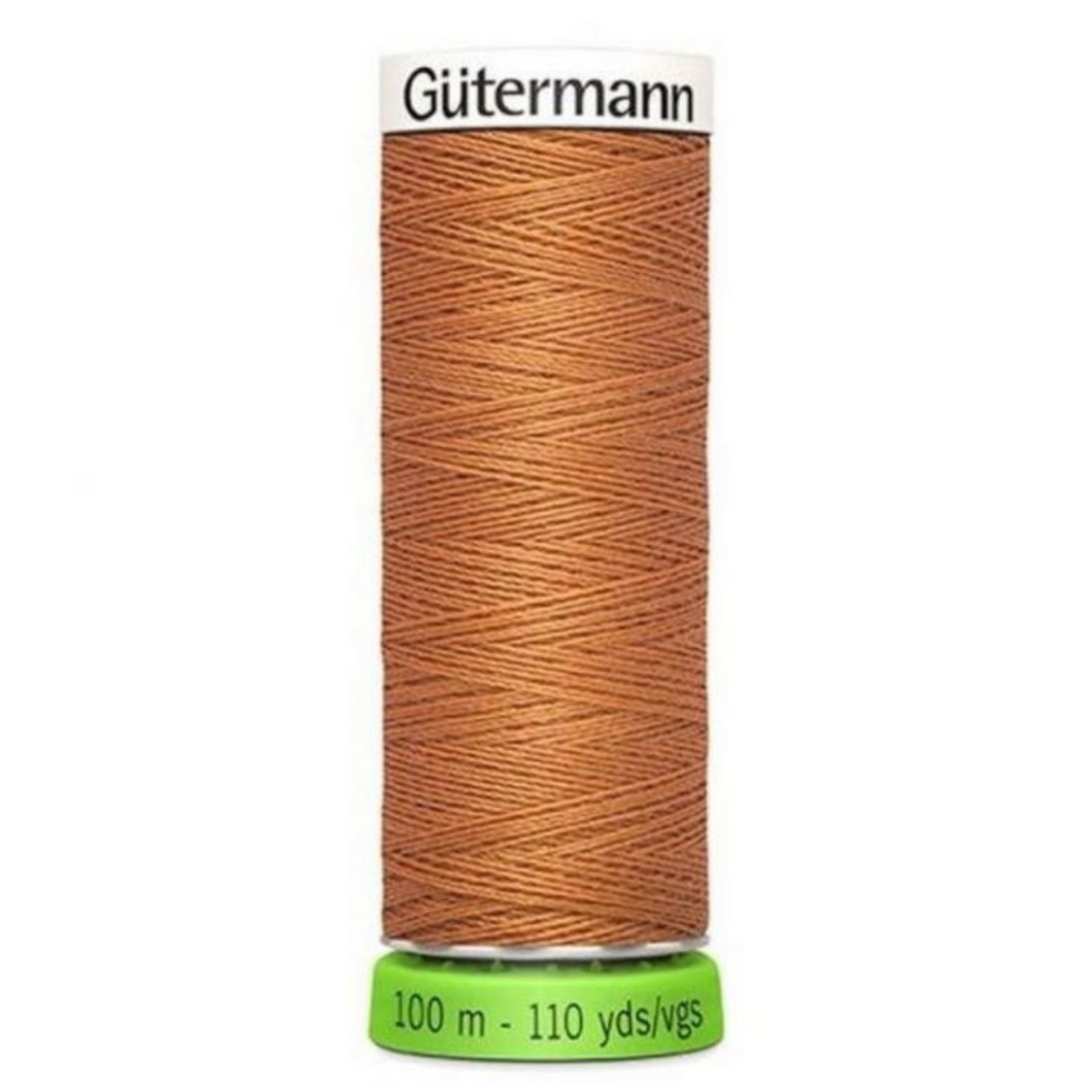 Gutermann rPET sewing thread 612 Ochre