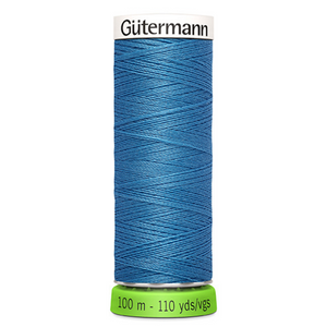 Gutermann rPET sewing thread 965 Indigo