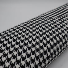 Load image into Gallery viewer, Houndstooth pied-de-poule fabric oeko-tex bolt