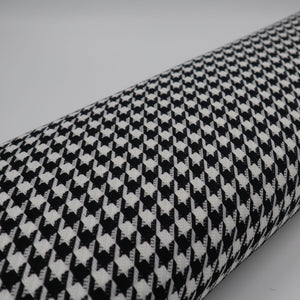 Houndstooth pied-de-poule fabric oeko-tex bolt