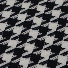 Load image into Gallery viewer, Houndstooth pied-de-poule fabric oeko-tex close up