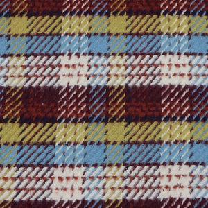 cotton coat fabric checkered oeko-tex