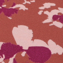 Load image into Gallery viewer, Églantine & Zoé Clovers Terracotta fabric close up