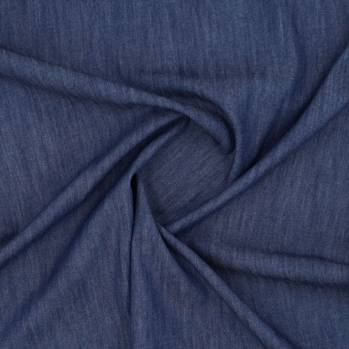 Denim Chambray 5oz fabric oeko-tex swirl