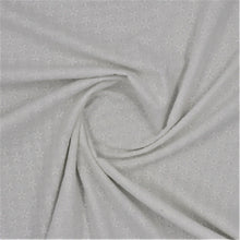Load image into Gallery viewer, Cotton embroidery fabric white oeko-tex swirl