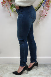 plus size super soft stretch denim jeans high waisted