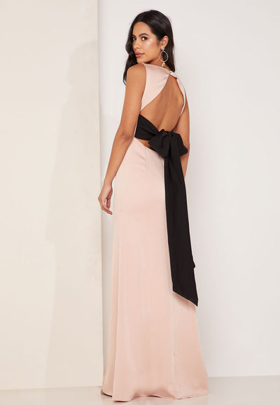 Backless Maxi Gown