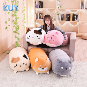 BIG SQUISHY HUGGABLE 90CM LIFE SIZED CAT DOG PLUSH TOYS